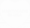 Handmade in USA-white