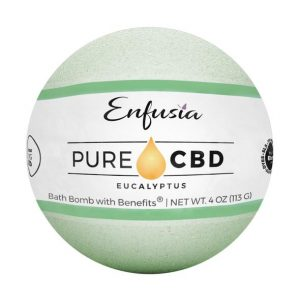 Pure CBD Bath Bomb Eucalyptus