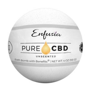 Pure CBD Bath Bomb Unscented