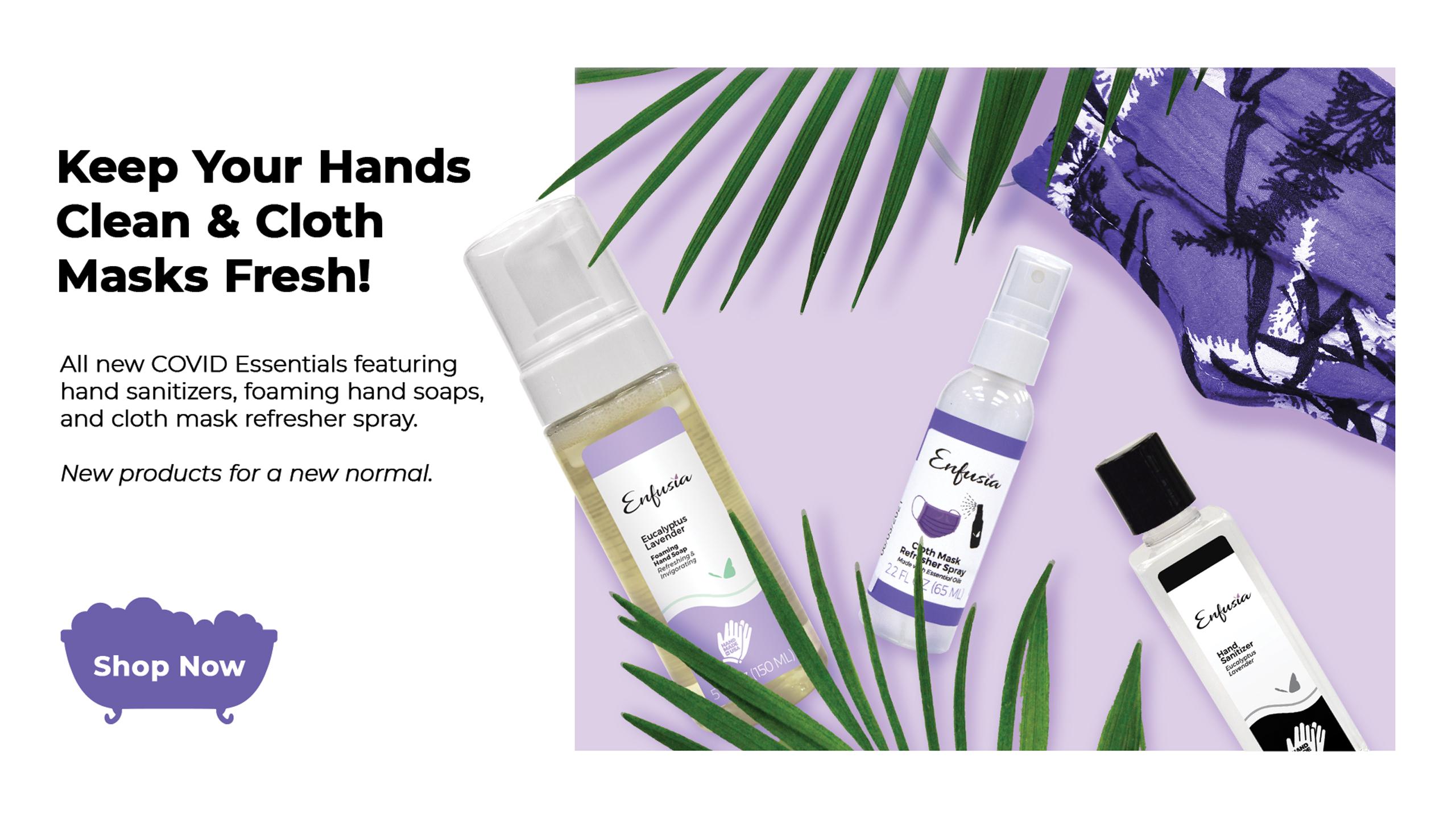 Enfusia Hand Sanitizer Mask Refresher