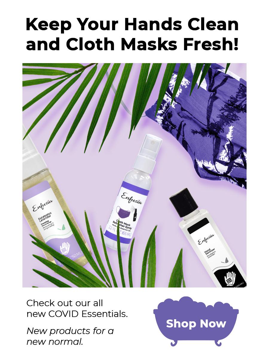 Enfusia Hand Sanitizer Mask Refresher Mobile