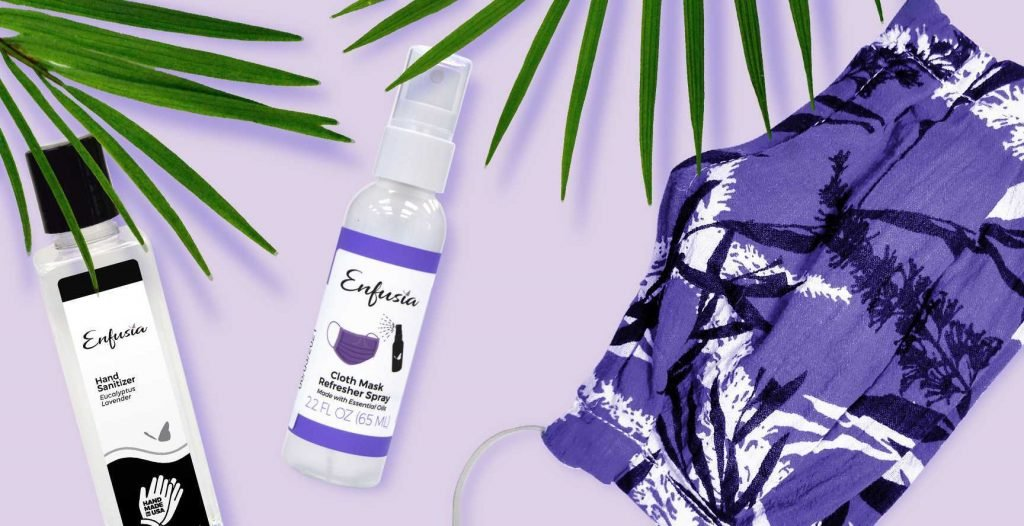 Enfusia COVID 19 Hand Sanitizer Mask Refresher