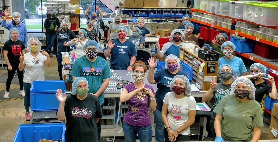 Enfusia Company Photo - Face Masks