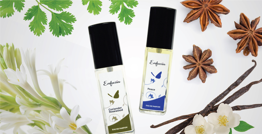 Enfusia Wellness Month Mental Wellbeing Aromatherapy