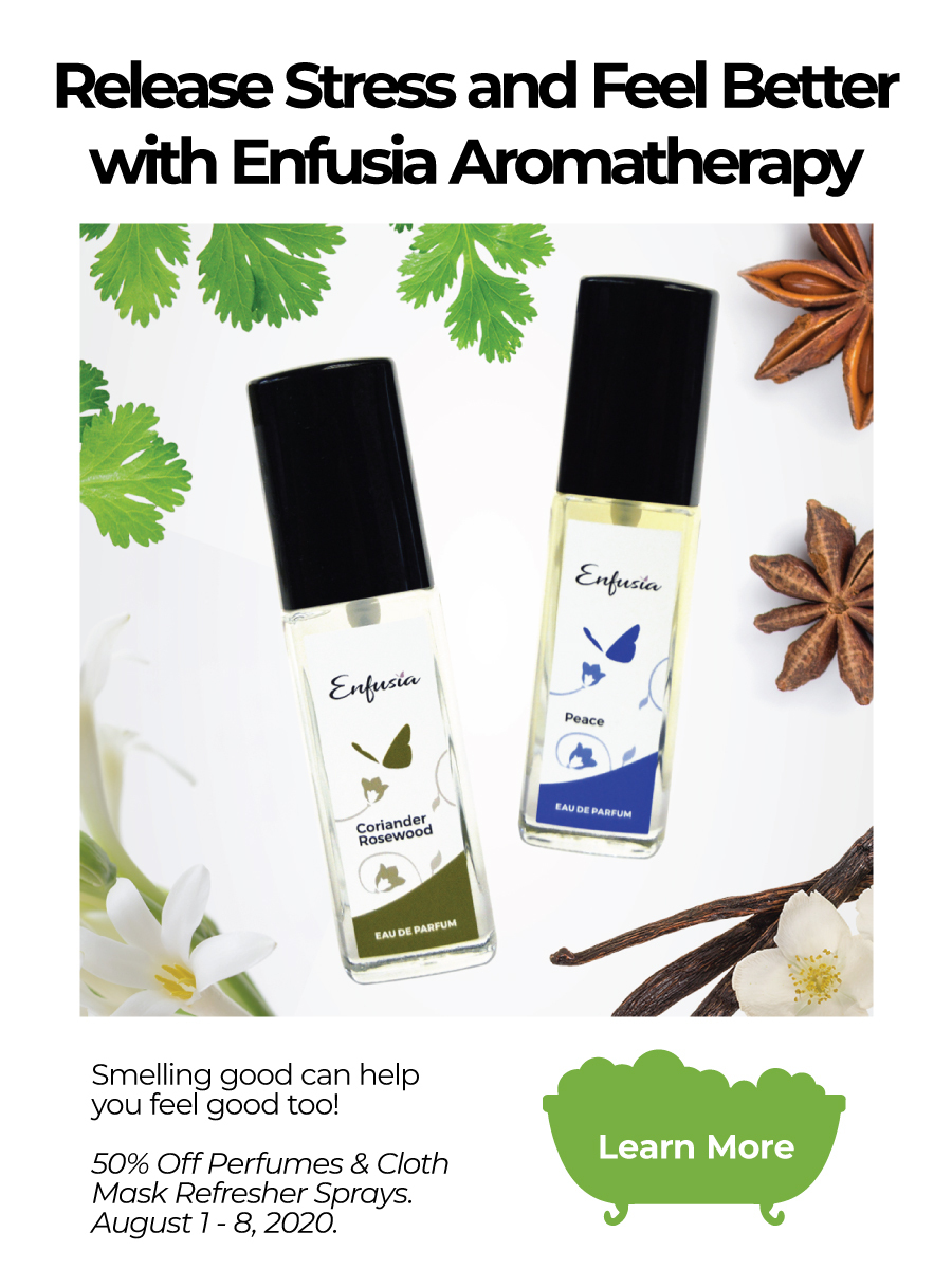 Enfusia Wellness Month Mental Wellbeing Aromatherapy Mobile