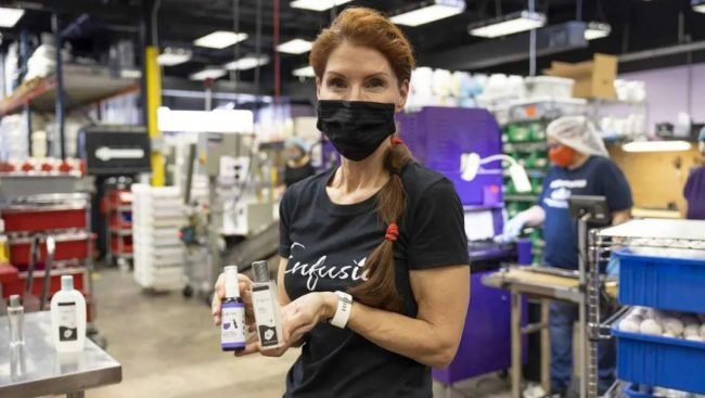 Enfusia Debra Myers Northwestern Mutual Hand Sanitizer