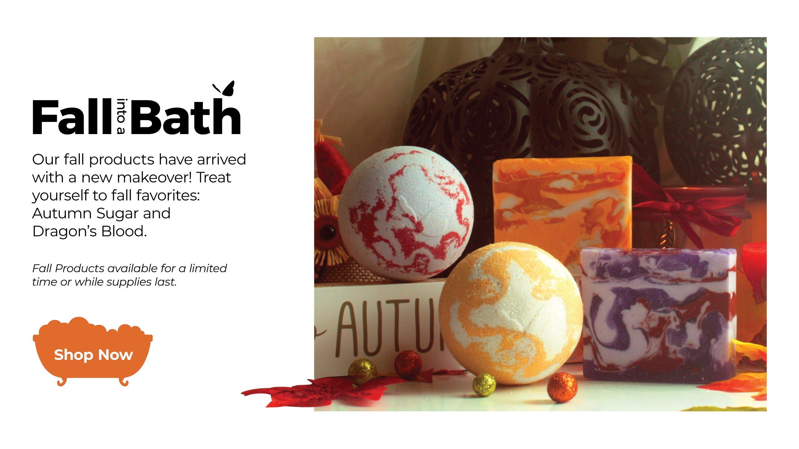 Enfusia Fall Into a Bath New Products Fall 2020