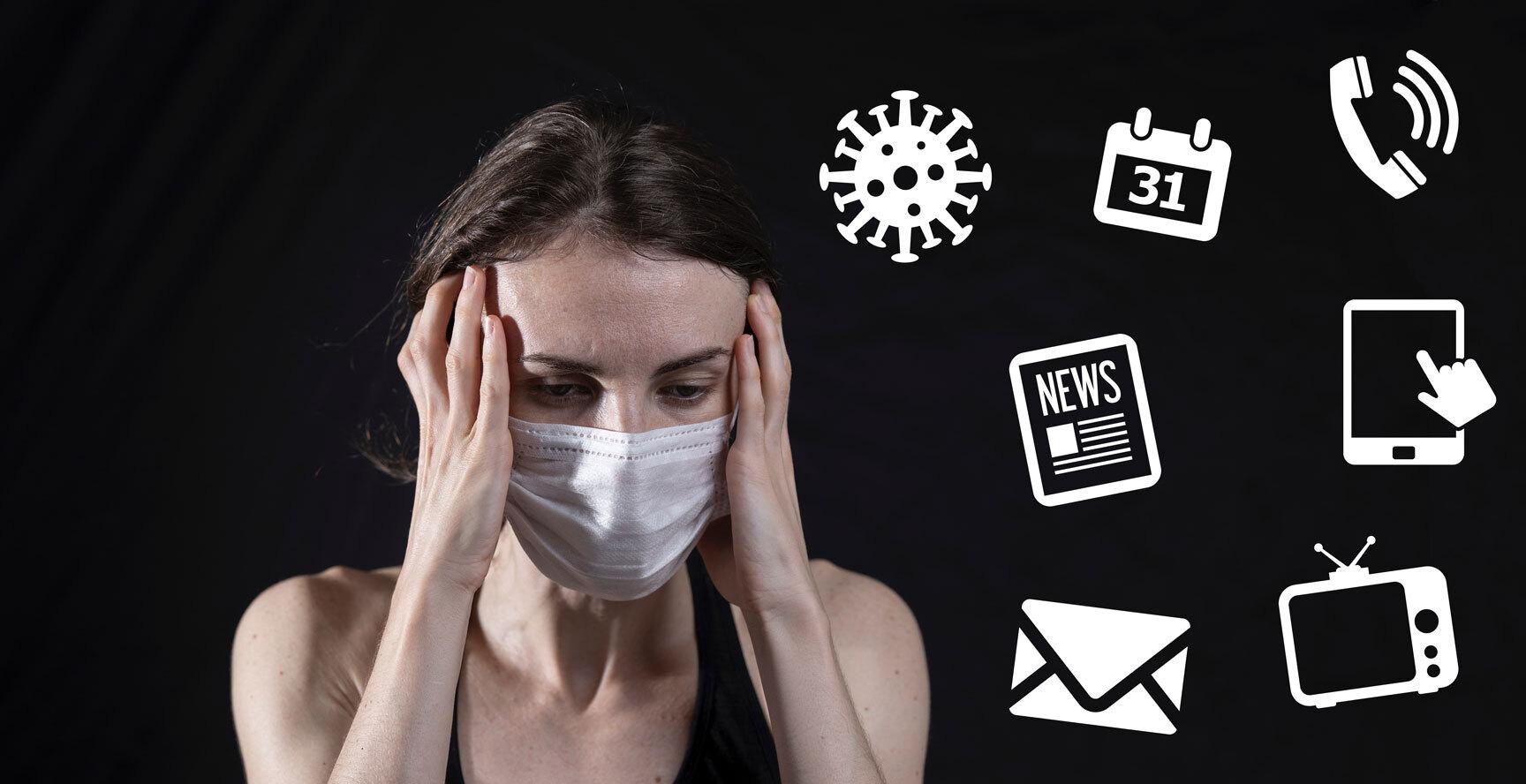 Women feeling stressed and overwhelmed