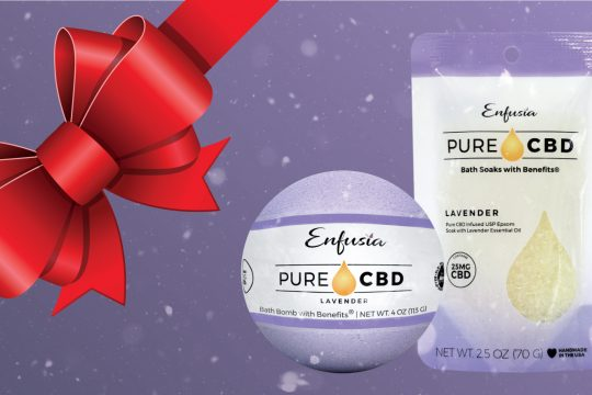 Pure CBD holiday gift