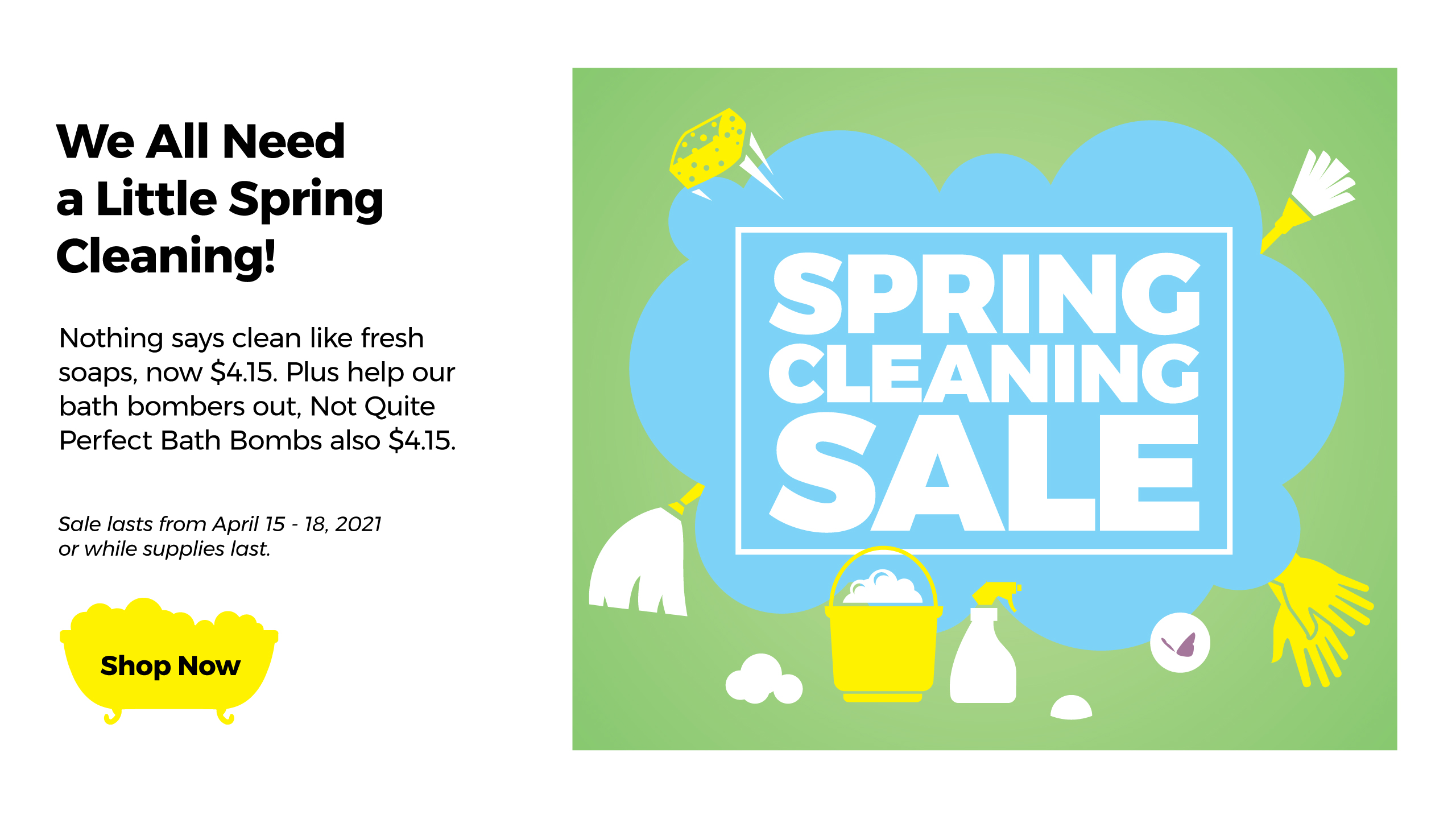 Enfusia Spring Cleaning Sale 2021,